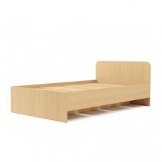 Кровать №2 (1200) (без матраца), Беленый дуб