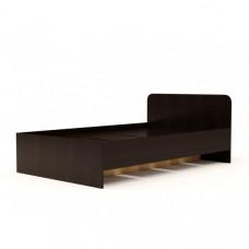 Кровать №2 (1400) (без матраца), Венге