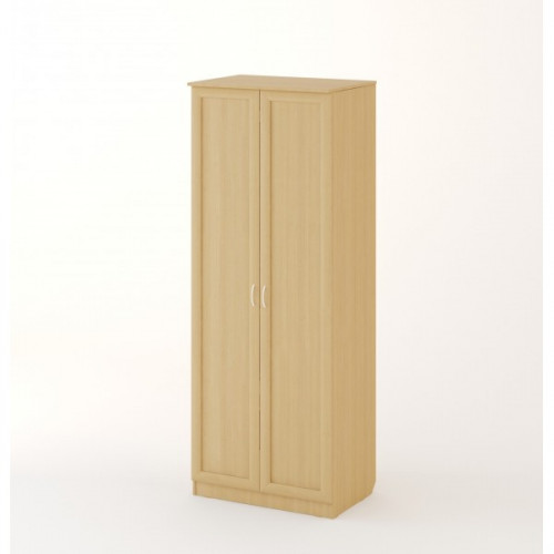 "Шкаф распашной 2х створчатый №2 ""Рамочный"", Беленый дуб"